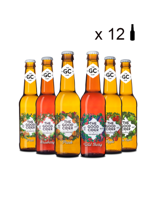 Pack Personalizable The Good Cider (12 Uds.)